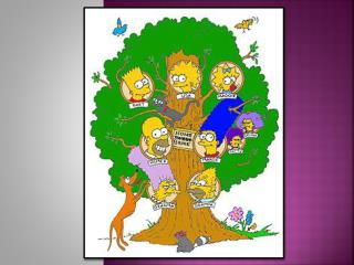 The  simpsons '  family tree