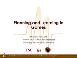 Planning and Learning in Games