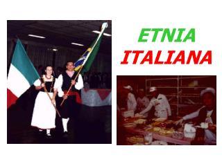 ETNIA ITALIANA