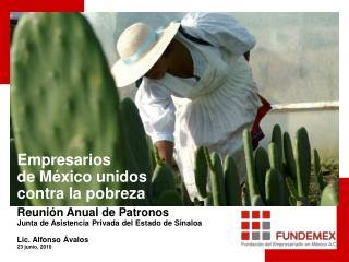Gran alianza para el desarrollo social de México