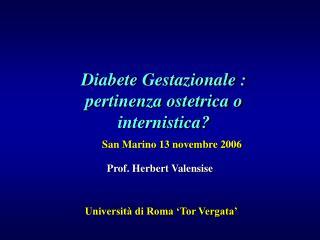 Prof. Herbert Valensise