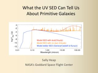 What the UV SED Can Tell Us About Primitive Galaxies