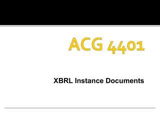 ACG  4401