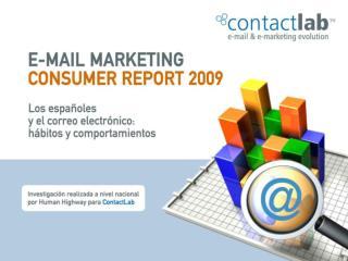 El uso del correo electrónico en España
