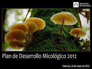 Plan de Desarrollo Micológico 2012