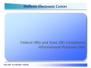 Hellenic Electronic Center