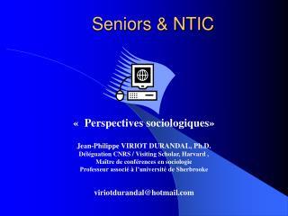 Seniors  NTIC