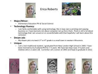 Erica Roberts