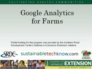 Website Tools for Farms
