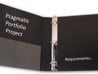 Pragmatic Portfolio Project