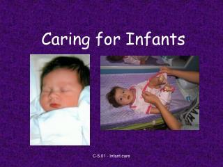 Caring for Infants