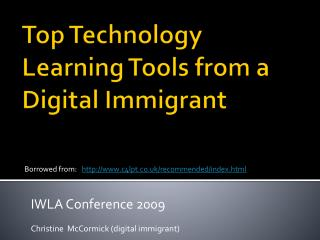 Top Technology Learning Tools from a Digital Immigrant