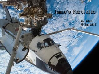 Jamie ' s Portfolio