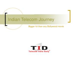 Indian Telecom Journey
