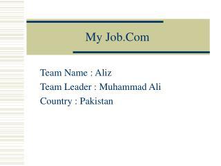 My Job.Com