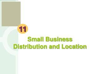 Small Business Distribution and Location