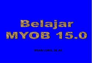 Belajar MYOB 15.0