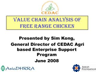 Value Chain Analysis of Free Range Chicken