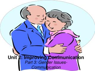 Unit 2: Improving Communication