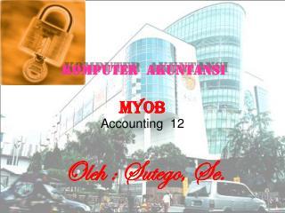 MYOB     Accounting  12