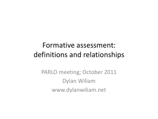 Involving students in learning assessment