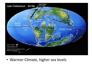 Warmer Climate, higher sea levels