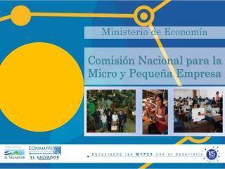 Comisi�n Nacional para la Micro y Peque�a Empresa