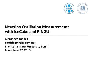 Neutrino Oscillation Measurements  with IceCube and PINGU