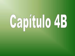 Capítulo 4B