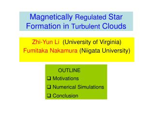 Magnetically Regulated Star Formation in Turbulent Clouds