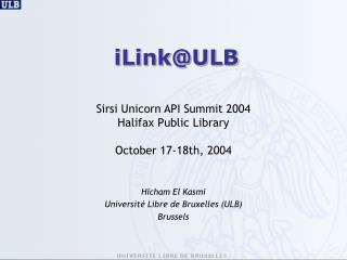 iLink@ULB
