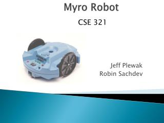 Myro  Robot