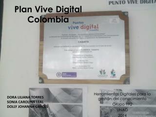 herramientas digitales, plan digital