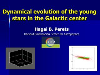 Dynamical evolution of the young stars in the Galactic center