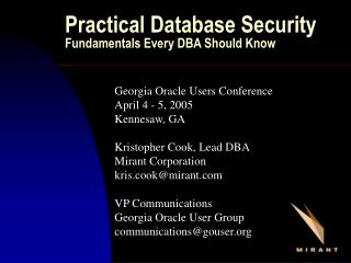 Practical Database Security Fundamentals Every DBA Should Know