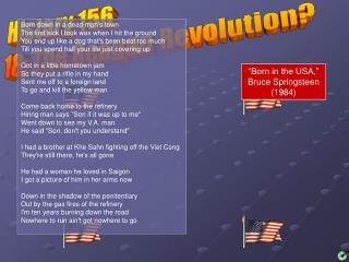 History 156 18: The Reagan Revolution?