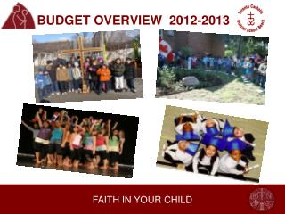 BUDGET OVERVIEW  2012-2013