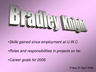 Bradley  Knight