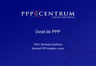 �vod do PPP