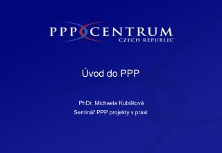Úvod do PPP