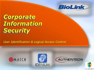 Corporate Information Security
