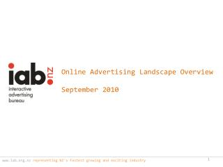 iab.nz  representing NZ's fastest growing and exciting industry