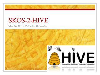 SKOS-2-HIVE