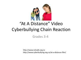 """At A Distance"" Video Cyberbullying  Chain Reaction"