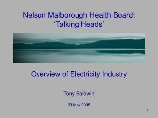 Nelson Malborough Health Board: 'Talking Heads'