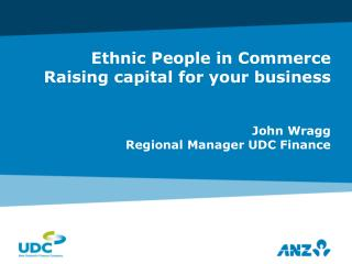 Ethnic People in Commerce Raising capital for your business