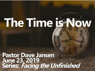 The Time has Come  Haggai 1:1-11