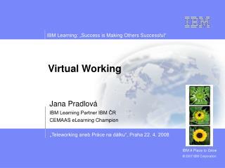 Virtual Working