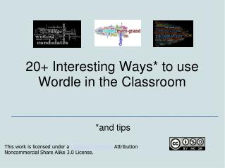 20+ Interesting Ways* to use Wordle in the Classroom