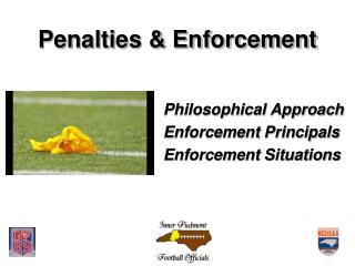 Penalties & Enforcement